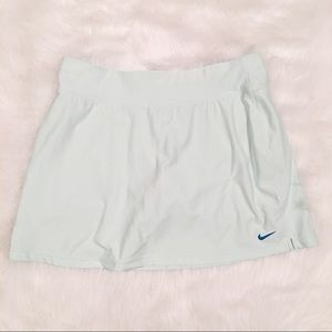 Nike skort light mint mini size medium